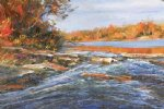 george gallo des plaines river painting