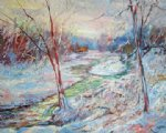 george gallo emerald stream 2 painting