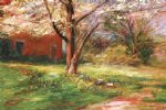 george gallo lyons park spring painting