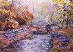 george gallo old bridge painting