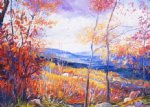 george gallo smugglers notch painting