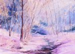 george gallo winter creek painting