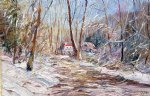 george gallo winter sunlight painting