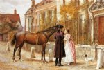 goodby by george goodwin kilburne painting