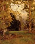 late afternoon by george inness painting
