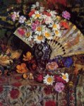 georges lemmen still life with fan paintings