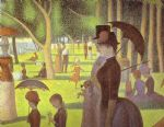 georges seurat a sunday on la grande jatte detail prints