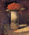 boquet in a vase by georges seurat painting