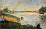 georges seurat rainbow prints