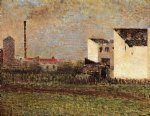 georges seurat suburb painting