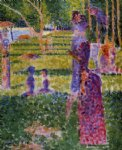 georges seurat the couple art