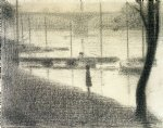 georges seurat the pont de courbevoie painting