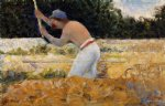 georges seurat the stone breaker iv painting