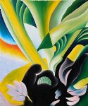 georgia o keeffe skunk cabbage painting