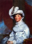 mrs. barney smith by gilbert stuart painting