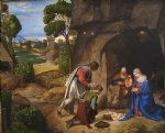 giorgio barbarelli da castelfranco the allendale nativity adoration of the shepherds paintings