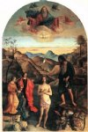 baptism of christ by giovanni bellini painting