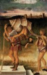 four allegories falsehood or wisdom by giovanni bellini painting