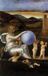 four allegories fortune or melancholy by giovanni bellini painting