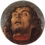 giovanni bellini head of the baptist painting