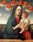 giovanni bellini madonna of red angels art