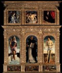 giovanni bellini polyptych of san vincenzo ferreri painting