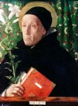 portrait paintings - portrait of fra theodoro da urbino by giovanni bellini
