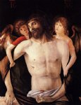 giovanni bellini the dead christ supported by two angels posters