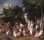 giovanni bellini the feast of the gods painting