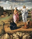 giovanni bellini transfiguration of christ detail ii posters