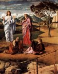 giovanni bellini transfiguration of christ detail posters