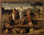 giovanni bellini transfiguration of christ ii painting