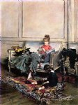 peaceful days by giovanni boldini painting
