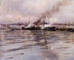 view of venice by giovanni boldini painting