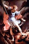 the archangel michael by guido reni painting