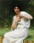 guillaume seignac paintings - preparing for the bath by guillaume seignac
