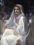 guillaume seignac paintings - reflections by guillaume seignac