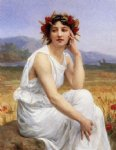 guillaume seignac paintings - the muse by guillaume seignac