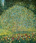 apple tree i by gustav klimt painting