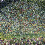 apple tree ii by gustav klimt painting
