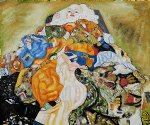 gustav klimt baby cradle paintings