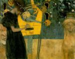 music oil paintings - music i 1895 by gustav klimt