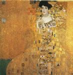 portrait paintings - portrait of adele bloch bauer i by gustav klimt