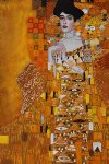 portrait paintings - portrait of adele bloch by gustav klimt