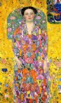 portrait paintings - portrait of eugenia mada primavesi by gustav klimt