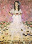 portrait paintings - portrait of maeda primavesi by gustav klimt