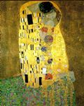 the kiss (le baiser   il baccio) by gustav klimt painting