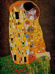 gustav klimt the kiss full view iii paintings