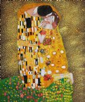 gustav klimt the kiss fullview painting