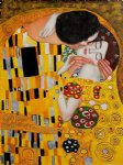 gustav klimt the kiss ii painting